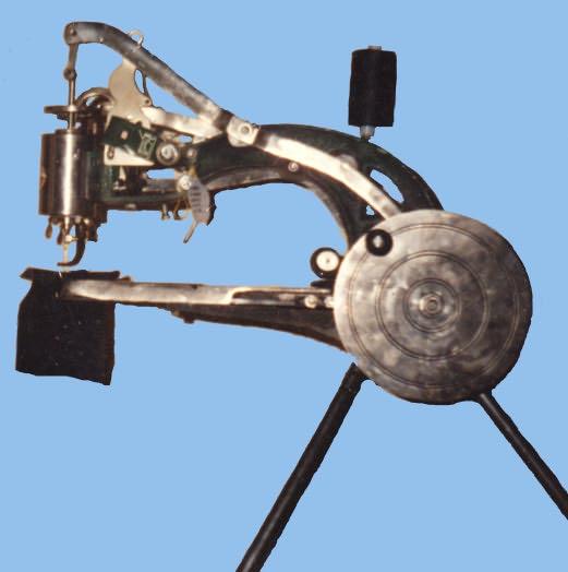 Швейная рукавная машинка для ремонта обуви производства Южная Корея.